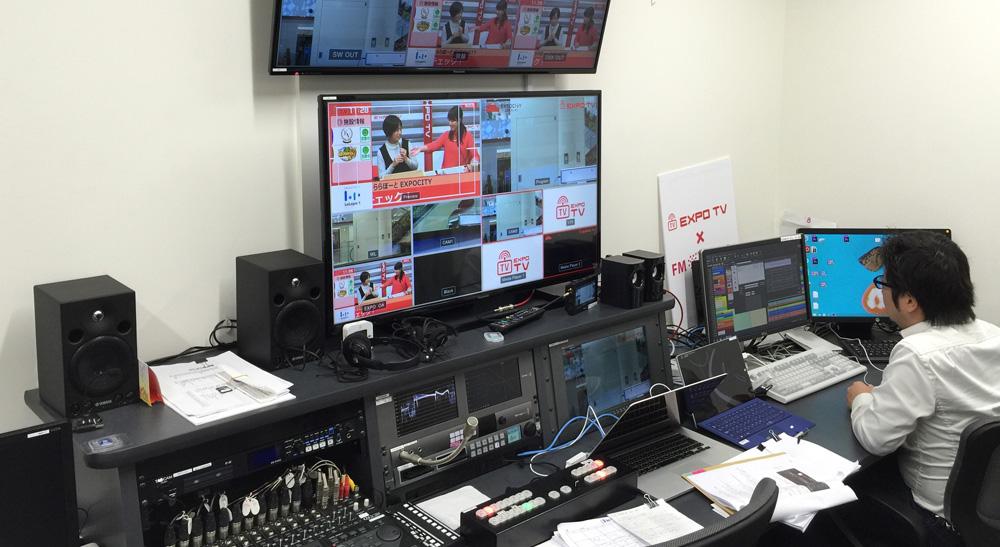 BlackmagicDesignホームページ『EXPO TV』製品導入事例掲載について
